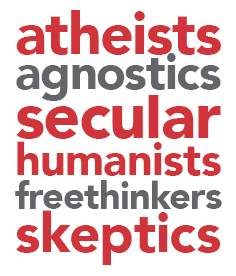 atheists agnostics block